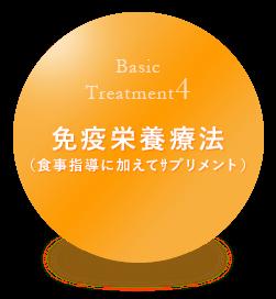 免疫栄養療法(食事指導に加えてサプリメント)